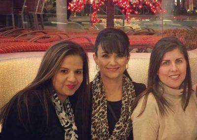 Audrey Serenil, Casandra Martinez, Yolanda Lara