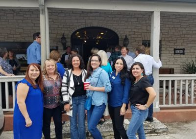 Crystal Lones, Laurie Roberts, Malita Jones, Jacqueline Mackey, Myra Zapata, Yolanda Lara