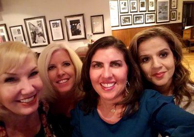 Terry Ann Miller, Debra Groch. Yolanda Lara, Audrey Serenil