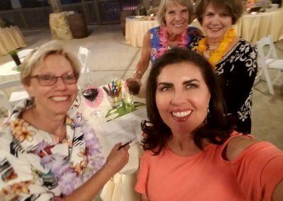 Kay Bowen, Yolanda Lara, Dotti Driver, Jane Sherman